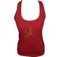 Blusa Feminina Classica Arte da Dança Vermelha 001