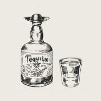 Camiseta V Tequila 001