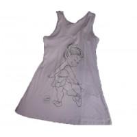 Vestidão Algodão Infantil Ref 07012-29 212