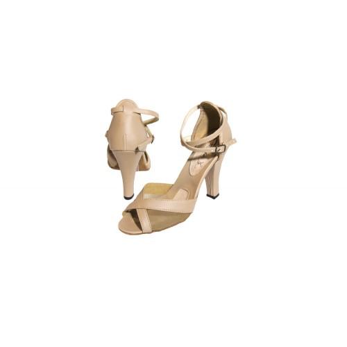 1563569a4d Sandália Dança de Salão 3580 - Bege